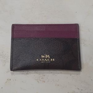 New without tags Coach card holder